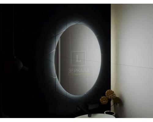Зеркало в ванну комнату с подсветкой Априка