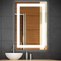 Зеркало в ванную с подсветкой Аделина 40х60 см